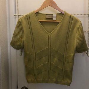 Women cotton top Liz Claiborne Lizwear Brand